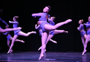 Pointe competition team