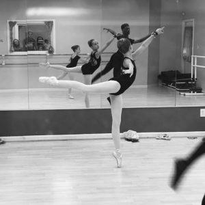 pointe dance class in Virginia Beach